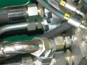 Service och montage av hydraulik.